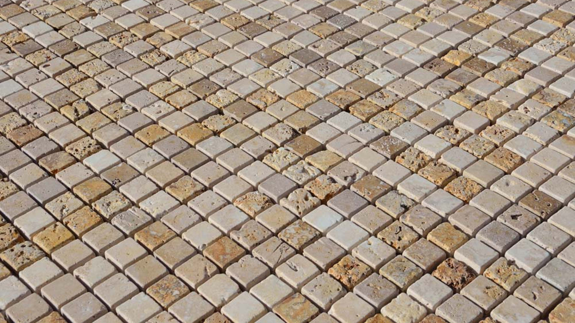 Flooring: Travertine Mosaic Tile Pros and Cons