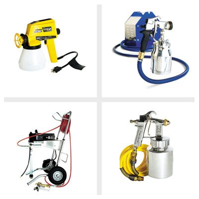 Paint Sprayers types